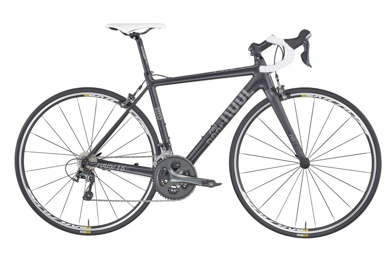 ROSE PRO SL-100 BIKE NOW! anodized-black/grey-white
