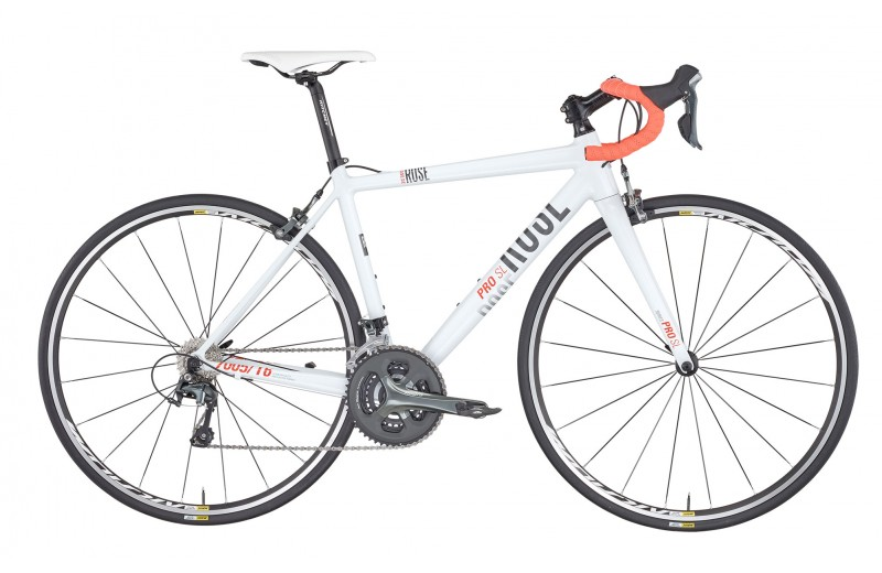 ROSE PRO SL-100 LADIES BIKE NOW! shiny-white/grey-orange