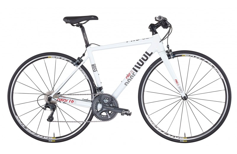 ROSE MULTIROAD PRO SL-300 DONNA shiny-white/grey-red