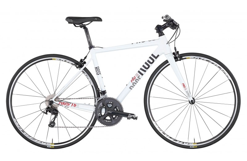 ROSE MULTIROAD PRO SL-200 LADIES shiny-white/grey-red