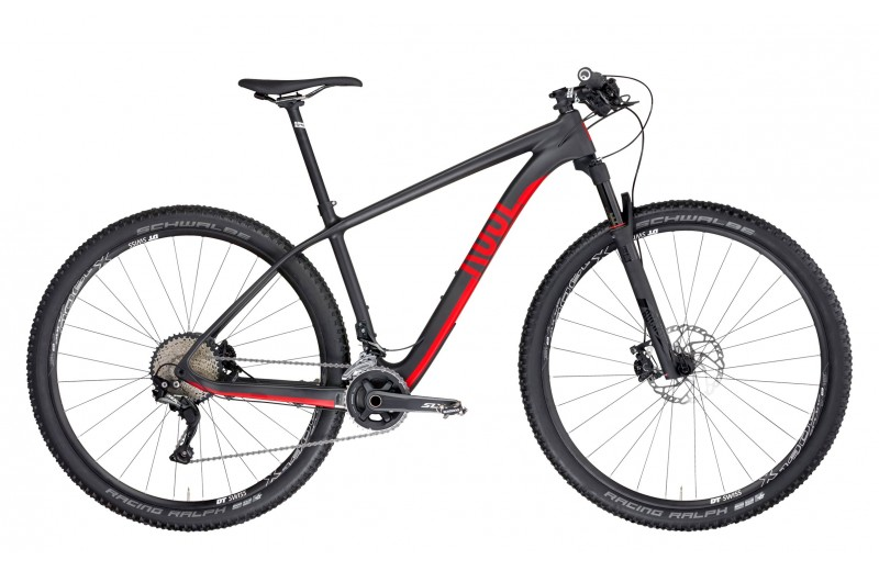 ROSE PSYCHO PATH 1 Carbon Matt/Red