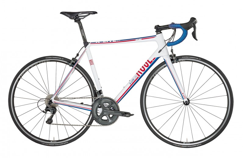 ROSE X-LITE CRS-3000 shiny white/red-blue