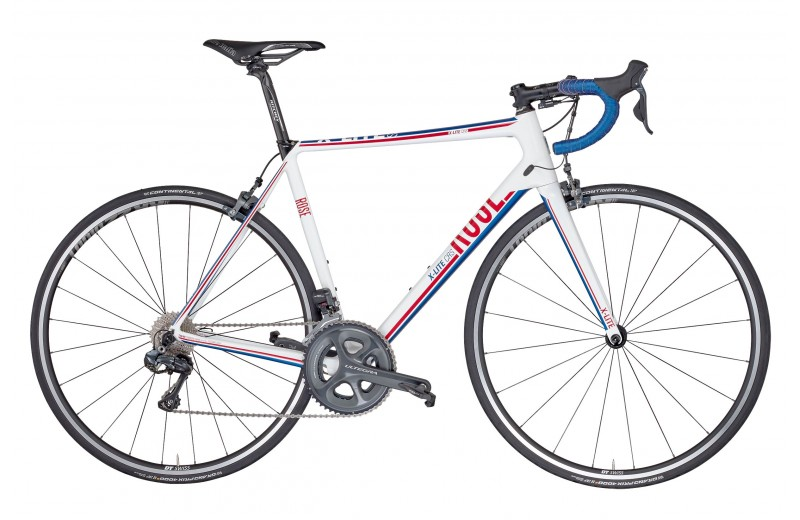 ROSE X-LITE CRS-3100 shiny white/red-blue