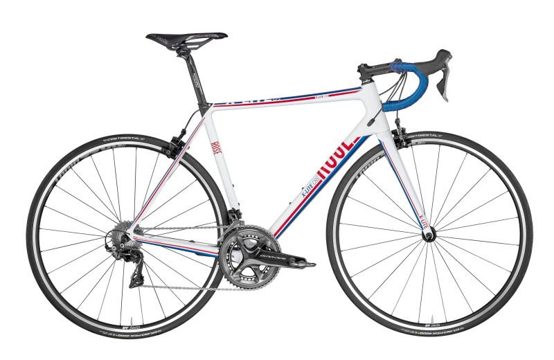 ROSE X-LITE CRS-4000 shiny-white/red-blue