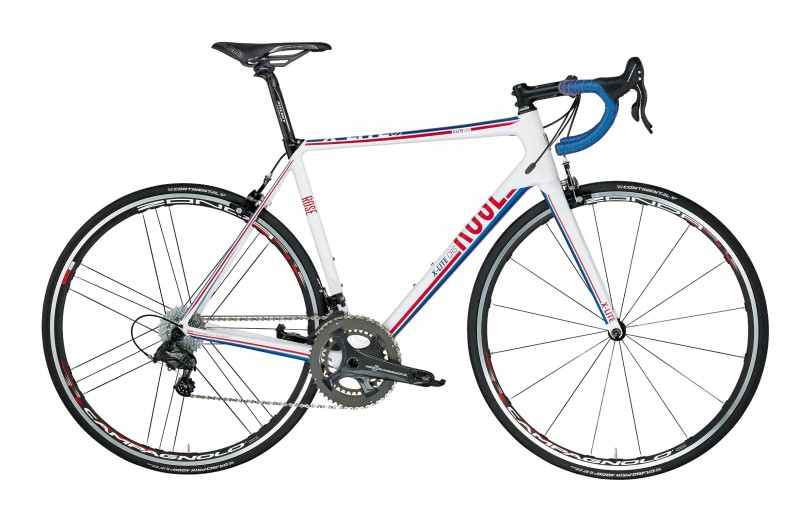 ROSE X-LITE CRS-5000 shiny-white/red-blue