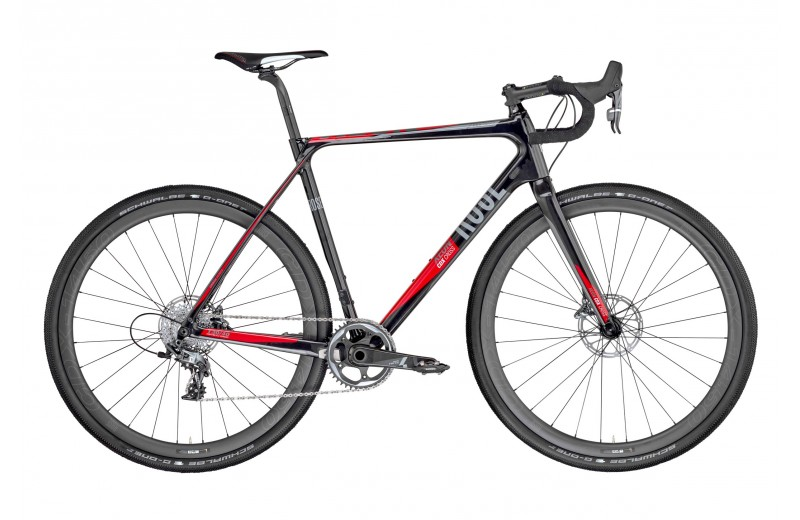 ROSE XEON CDX CROSS-4400 GRAVEL 1X11 shiny-black/red-grey