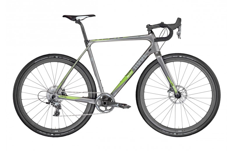 ROSE XEON CDX CROSS-4400 GRAVEL 1X11 shiny-grey/green-white