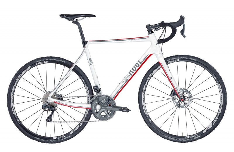 ROSE TEAM DX CROSS-3100 Di2 shiny-white/red