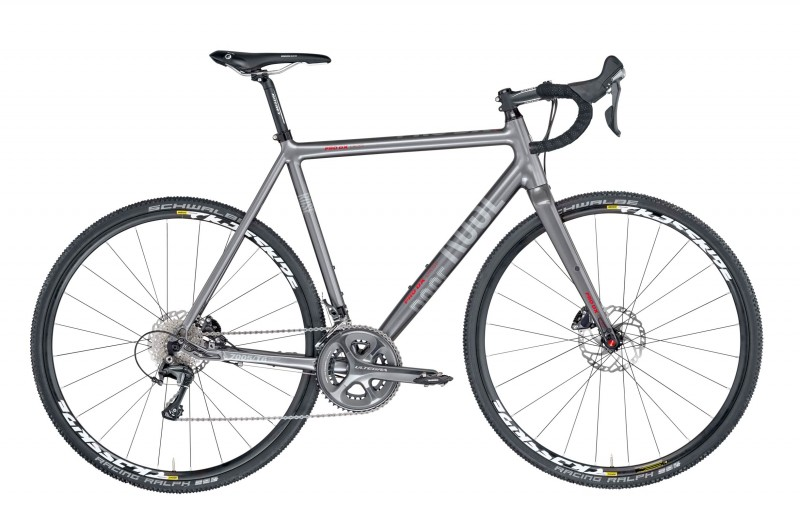 ROSE PRO DX CROSS Ultegra 6800 Hydraulic Iron-Grey