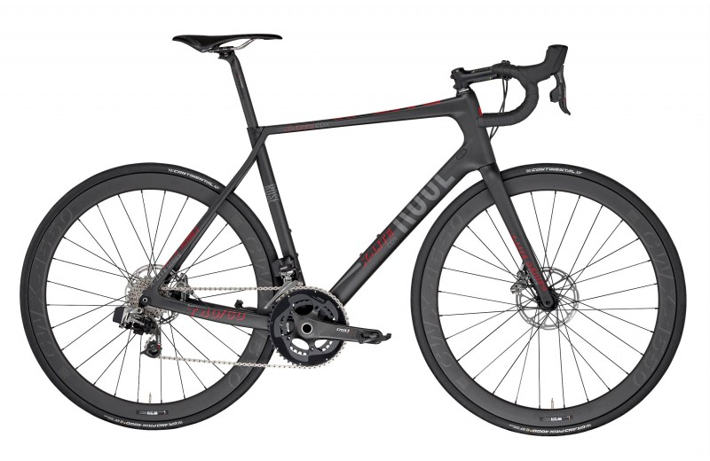 ROSE X-LITE CDX Red eTap matt-UD-carbon/red