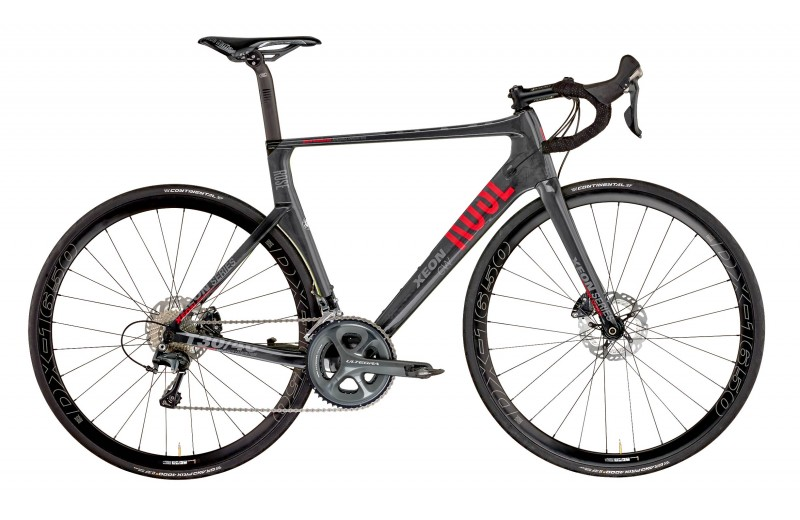 ROSE XEON CWX Ultegra 6800 shiny-UD-carbon/red-grey