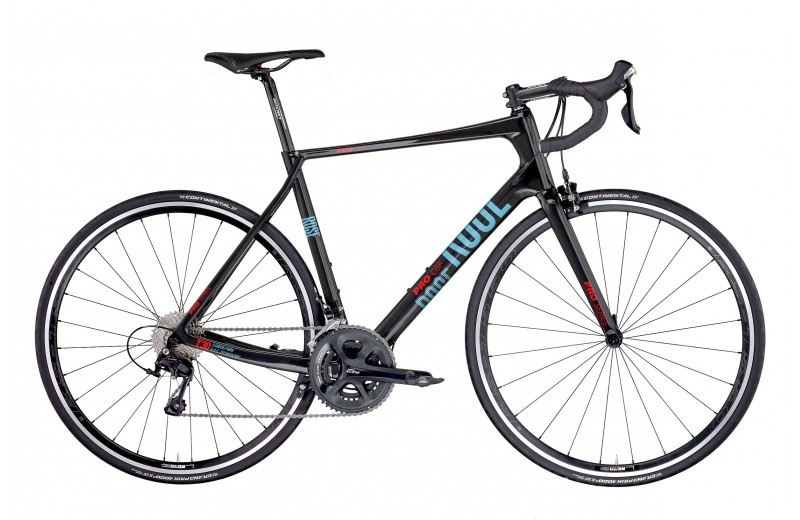 ROSE PRO CGF 105 BIKE NOW! Shiny-UD-Carbon/Light-Blue