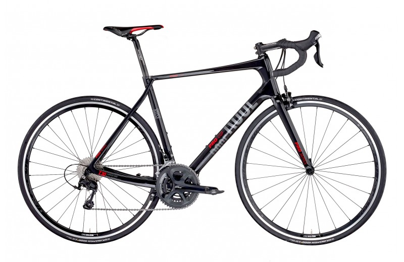 ROSE PRO CGF 105 BIKE NOW! shiny-UD-carbon/red