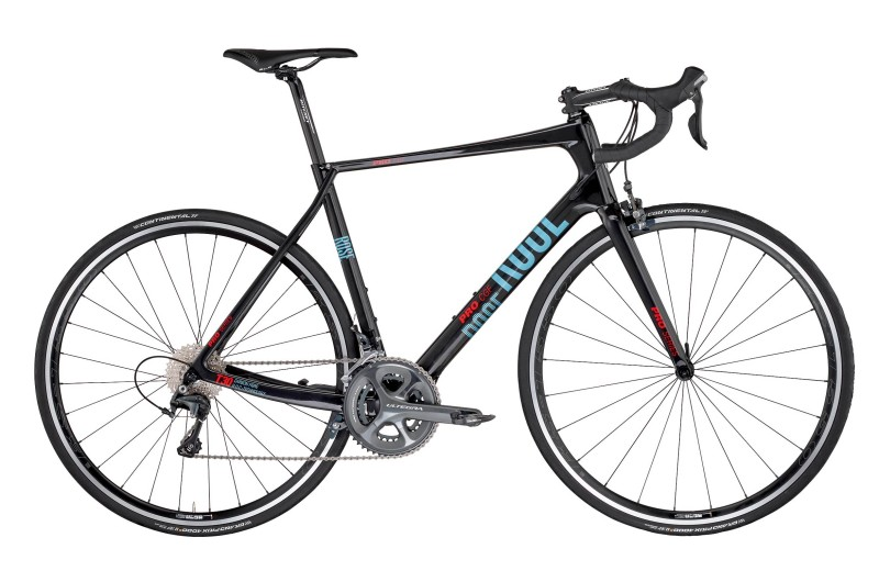 ROSE PRO CGF-3000 BIKE NOW! Shiny-UD-Carbon/Light-Blue