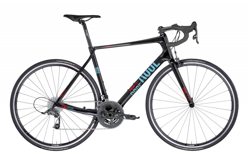 ROSE PRO CGF-4400 BIKES NOW! Shiny-UD-Carbon/Light-Blue