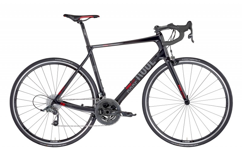 ROSE PRO CGF-4400 BIKES NOW! shiny-UD-carbon/red
