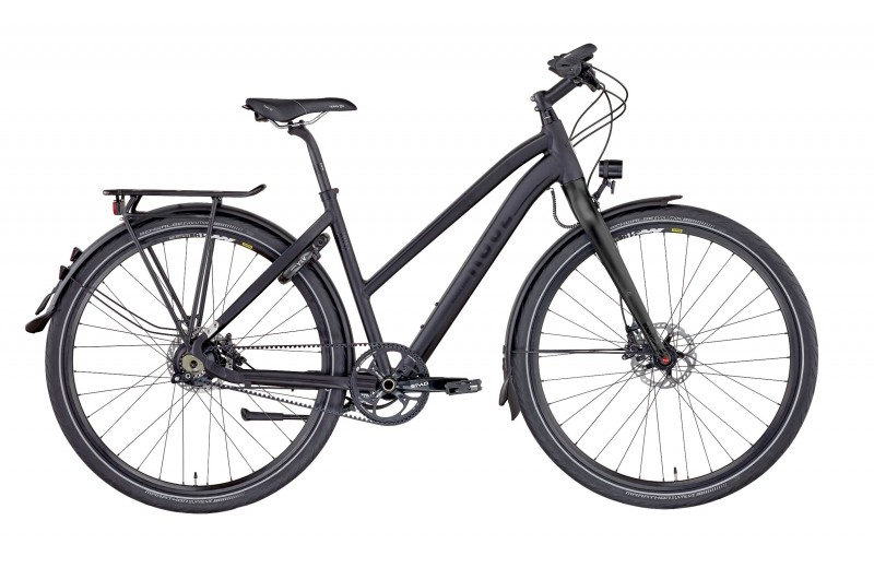 ROSE BLACK LAVA-5 CARBON DRIVE TREKKING DAMEN anodized black
