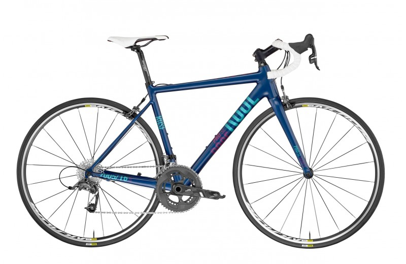 ROSE PRO SL-440 LADY BIKE NOW! Deep-Blue/Laguna-Green