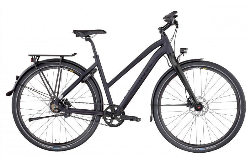 ROSE BLACK LAVA-1 CARBON DRIVE TREKKING DAMEN anodized black