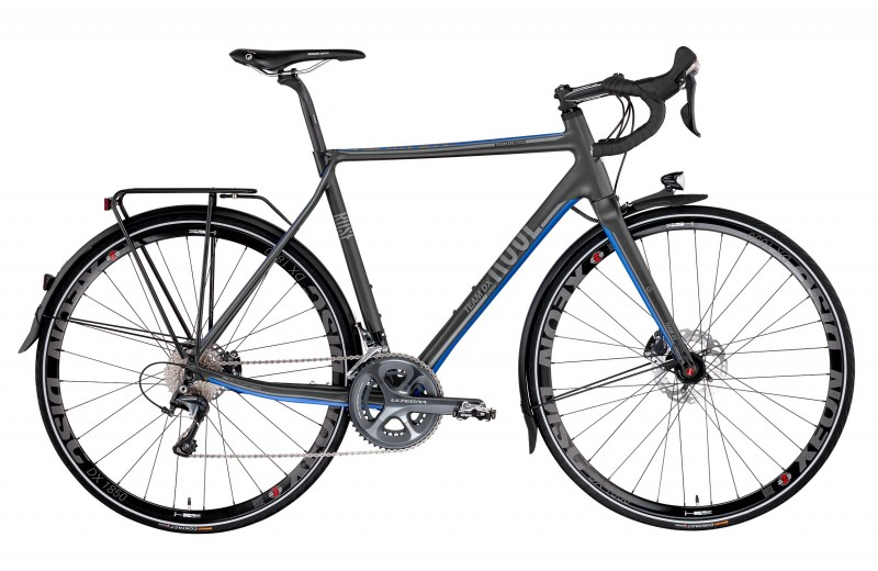 ROSE TEAM DX CROSS RANDONNEUR-3000 Matt Black/Blue