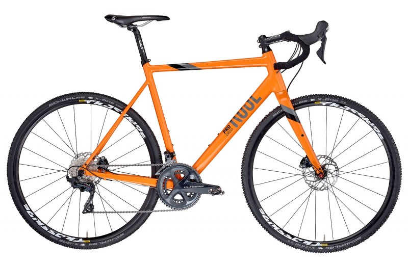 ROSE PRO CROSS Ultegra Poppy-Orange/Iron-Grey/Black