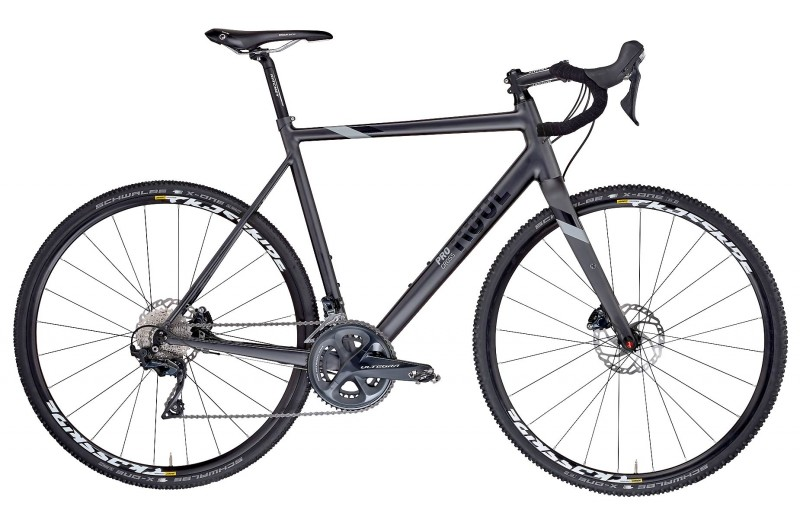 ROSE PRO CROSS Ultegra Matt-Black/Shiny-Black/Grey