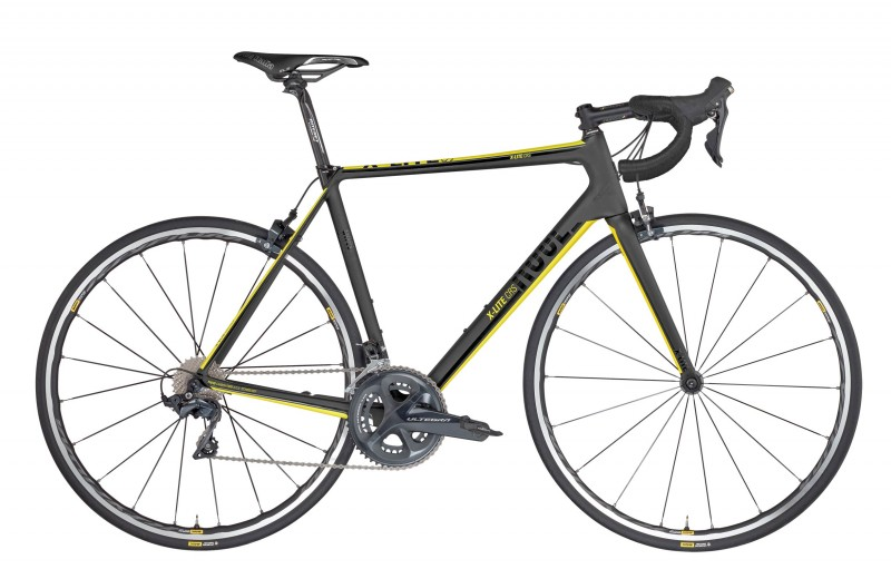 ROSE X-LITE CRS Ultegra matt UD-carbon/yellow