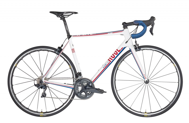 ROSE X-LITE CRS Ultegra shiny-white/red-blue